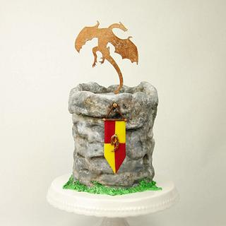 Dragon Birthday Cake - Cake by Jennifer Holst • Sugar, Cake & Chocolate •
