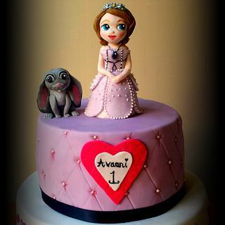 Sofia and Clover Cake