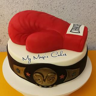 The boxer  - Cake by My Magic Cakes