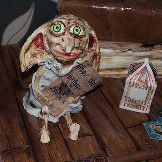 Harry Potter/Dobby Cake  - Cake by Sue