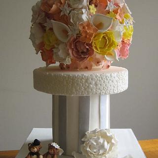 Romantic French Wedding Cake