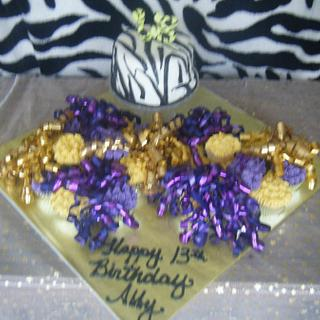 CCE Cheer cake for Abbey
