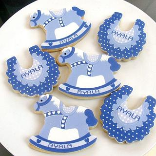 Cookies for a new baby. - Cake by Sweet Creations