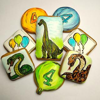 Brahio & Snakes - Cake by Dragana