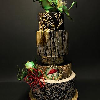 Dream Forest Cake - Cake by Duygu Tugcu