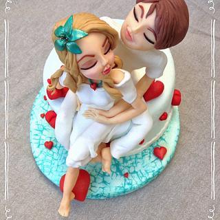 Be my Valentine - Cake by Pepper Posh - Carla Rodrigues