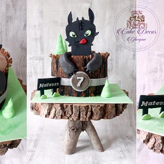 how to train your dragon - Cake by Kalina