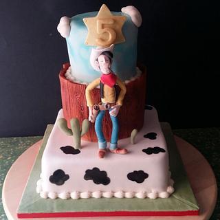 Lucky Luke Cake and cookies