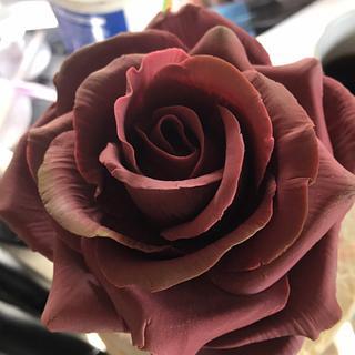 Rose - Cake by Pogihekk44