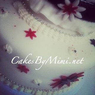 Flower Birthday Cake - Cake by Emily Herrington