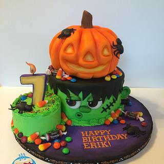 Halloween Birthday Cake 2015