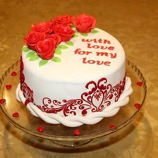 Red Velvet Lovers Cake