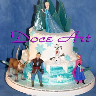 Frozen Cake - Cake by Magda Martins - Doce Art