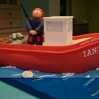 Fishing Boat - Cake by Ice, Ice, Tracey