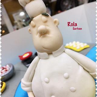 Chef cake 👨🏻🍳