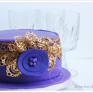 Bollywood inspired cake