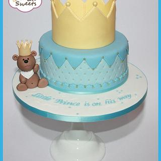 Little Prince is on his way  - Cake by Lealu-Sweets