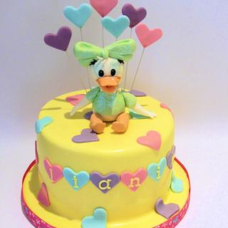 Remarkable Daisy Duck Cake 11 Cakes Cakesdecor Personalised Birthday Cards Paralily Jamesorg