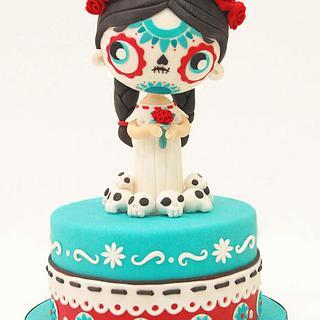 Saint Death Cake - Cake by MaryWay