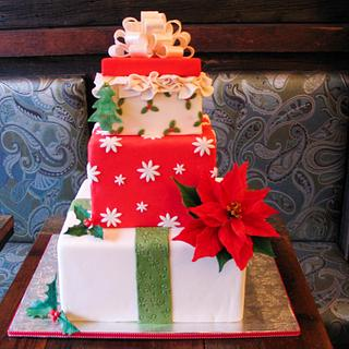 Gift Boxes Cake