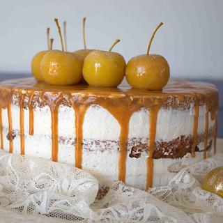 Autumnal Spiced Apple Cake - Cake by A Cake Story