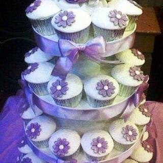simple lilac wedding