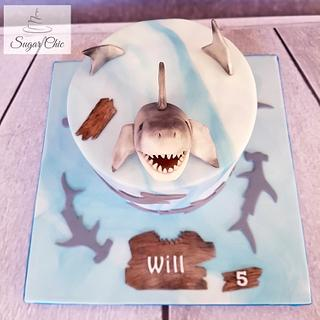 x Shark! Cake x - Cake by Sugar Chic