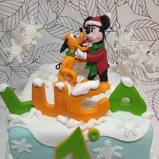 mickey mouse  and friend - Cake by ledolcezzedimarycry