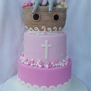 Christening Cake for PJ