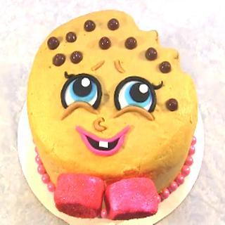 Shopkins Kooky Cookie Dough Cake