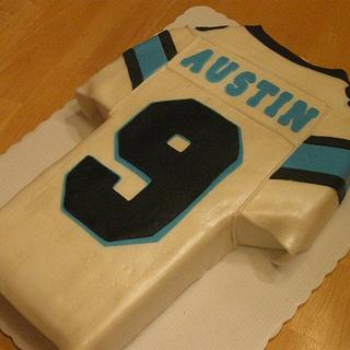 Football Jersey Cake