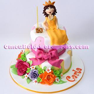 """""""50th Anniversary cake"""""""