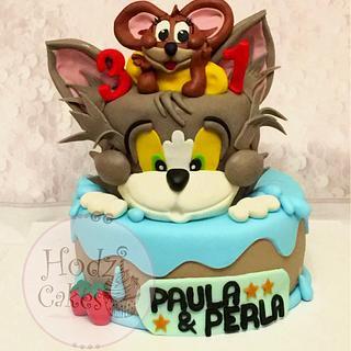 Tom&Jerry Cake - Cake by Hend Taha-HODZI CAKES