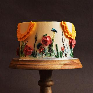 A Floral Dream - Caker Buddies Collaboration - Buttercream