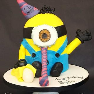 Party minion! For my gorgeous niece