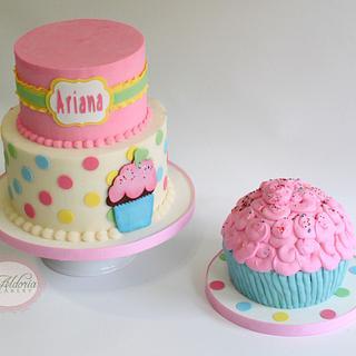 Cupcake 1st birthday!