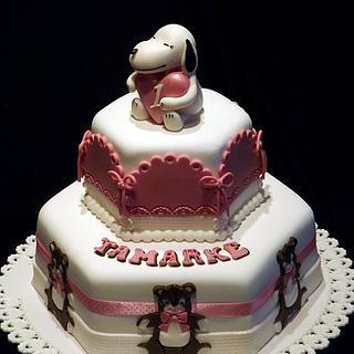 Snoopy cake..
