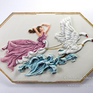 Chariot of Aphrodite - Cake by Anastasia