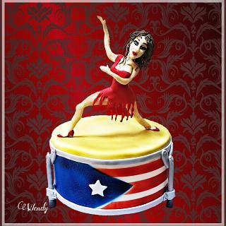 Salsa dancer-Puerto Rico Collaboration