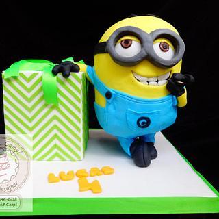 Despicable Me -Minion 3D cake-
