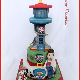 Paw Patrol  - Cake by Karen Dodenbier