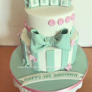 1st birthday cake  - Cake by Cake Nation