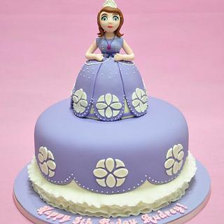 Sofia the First Cake - Cake by Sweet Success