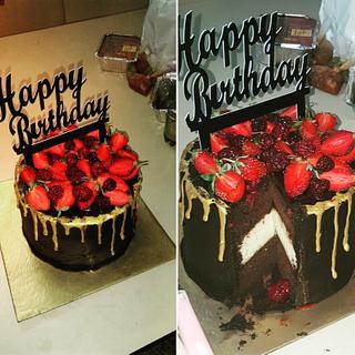 A decadent choco mocha and vanilla cakehewies! - Cake by Priyanka