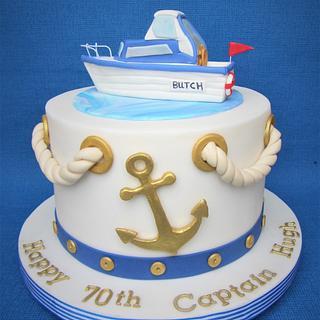 Big Brother's Birthday Cake.