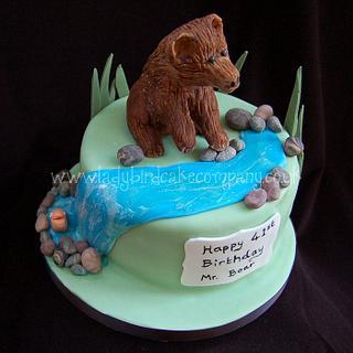 Modelling chocolate Bear