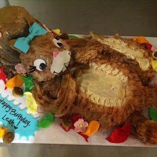 Squirrel Cake!