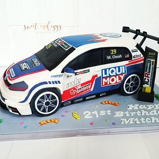 TCR Racers Car
