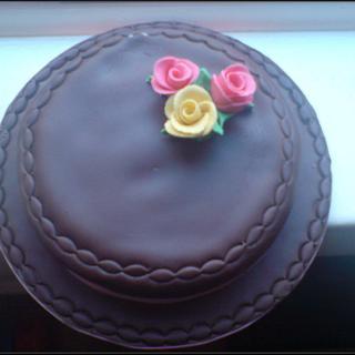 Simple & Elegant - Cake by fiestykax