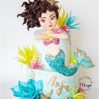 Mermaid cake - Cake by Branka Vukcevic